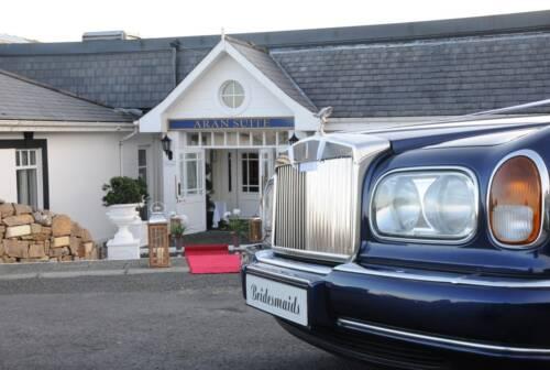 Aran Suite entrance